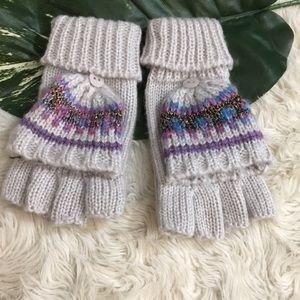 Other - Fingerless glove converts into mitten, pink